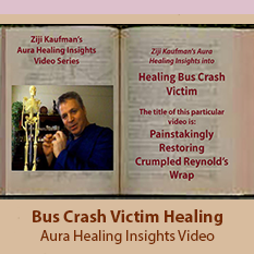 Bus Crash Victim Injuries Healing - Aura Healing Insights Video