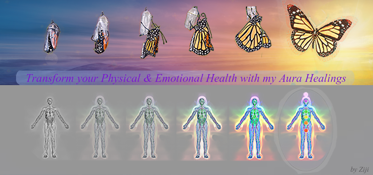 Transformation of the Aura through Healing